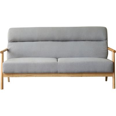 擇木深耕-北歐家居三人座布沙發