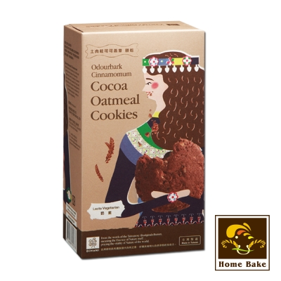 烘焙客 DiHaNi原住民餅乾-土肉桂可可燕麥(120g)