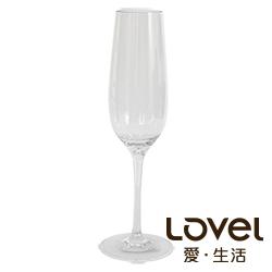 LOVEL 優雅高腳香檳杯270ml