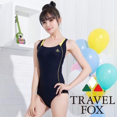 夏之戀TRAVEL FOX 甜美運動款連身三角泳裝