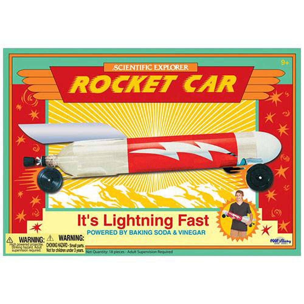 美國Scientific Explorer 發現科學-火箭車動力實驗組