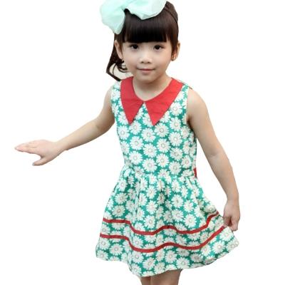 魔法Baby 夏威夷風女童連身裙洋裝 k34523