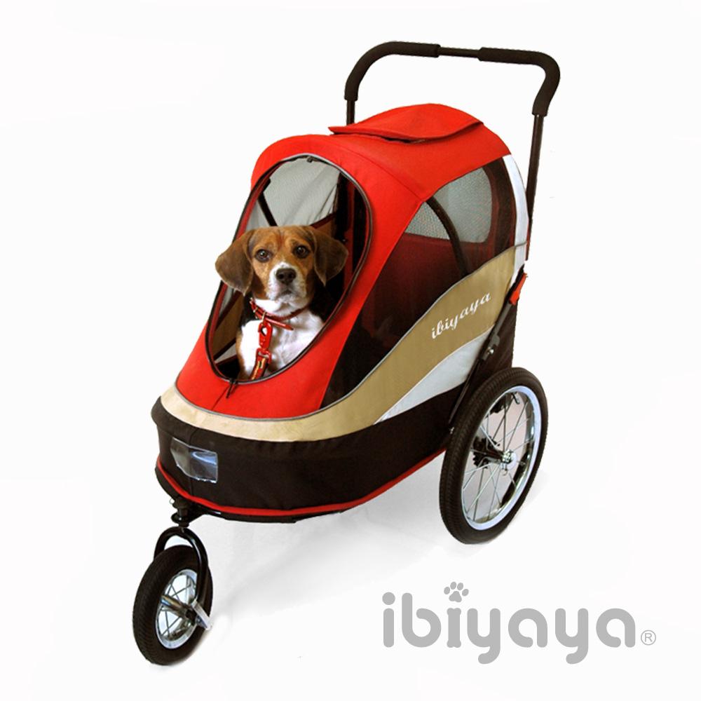 IBIYAYA依比呀呀  FS980二代兩用寵物推拖車-紅