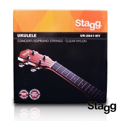 Stagg 比利時 21/23吋 烏克麗麗專用 透明尼龍弦(1組)
