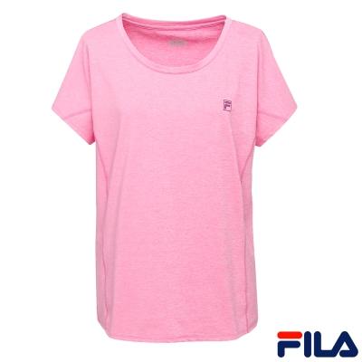 FILA女短袖罩衫-桃5TER-1611-PC