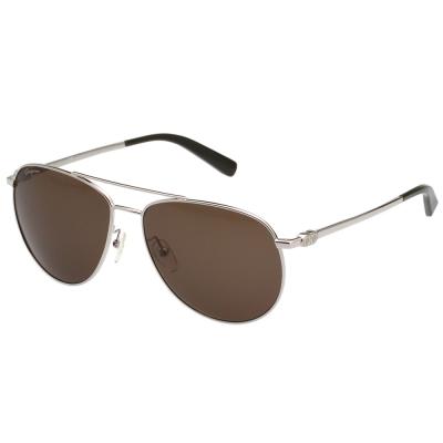 Salvatore Ferragamo  雷朋型 太陽眼鏡 (銀色) SF157S