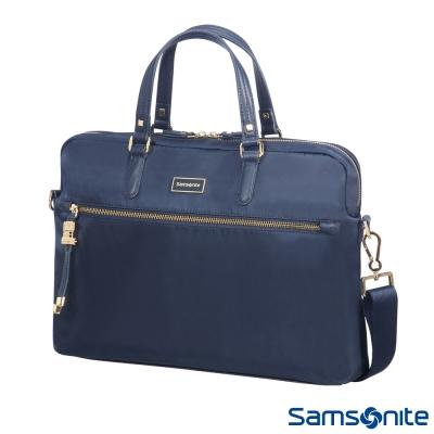 Samsonite新秀麗 Karissa Biz經典時尚兩用女性公事包15.6(深藍)