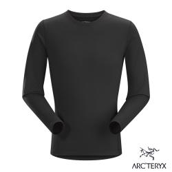 Arcteryx 始祖鳥 男 Phase AR 保暖內層圓領衫 黑