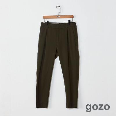 gozo 極簡態度彈性束口造型長褲(二色)