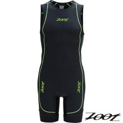 2014 ZOOT 菁英級後拉式肌能連身鐵人衣(男-黑翠綠) Z1406050