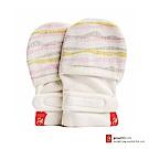 美國 GOUMIKIDS 有機棉嬰兒手套 (舞動波浪 - 粉色)