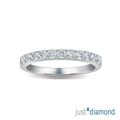 Just Diamond Charming系列 18K金 鑽石鑽戒