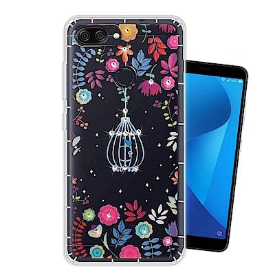 WT 華碩 ZenFone Max Plus ZB570TL 奧地利水晶手機殼(...