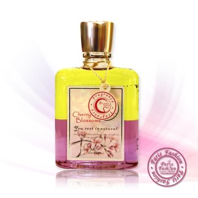 《paris fragrance隨心所浴》櫻花身體按摩油-250ml