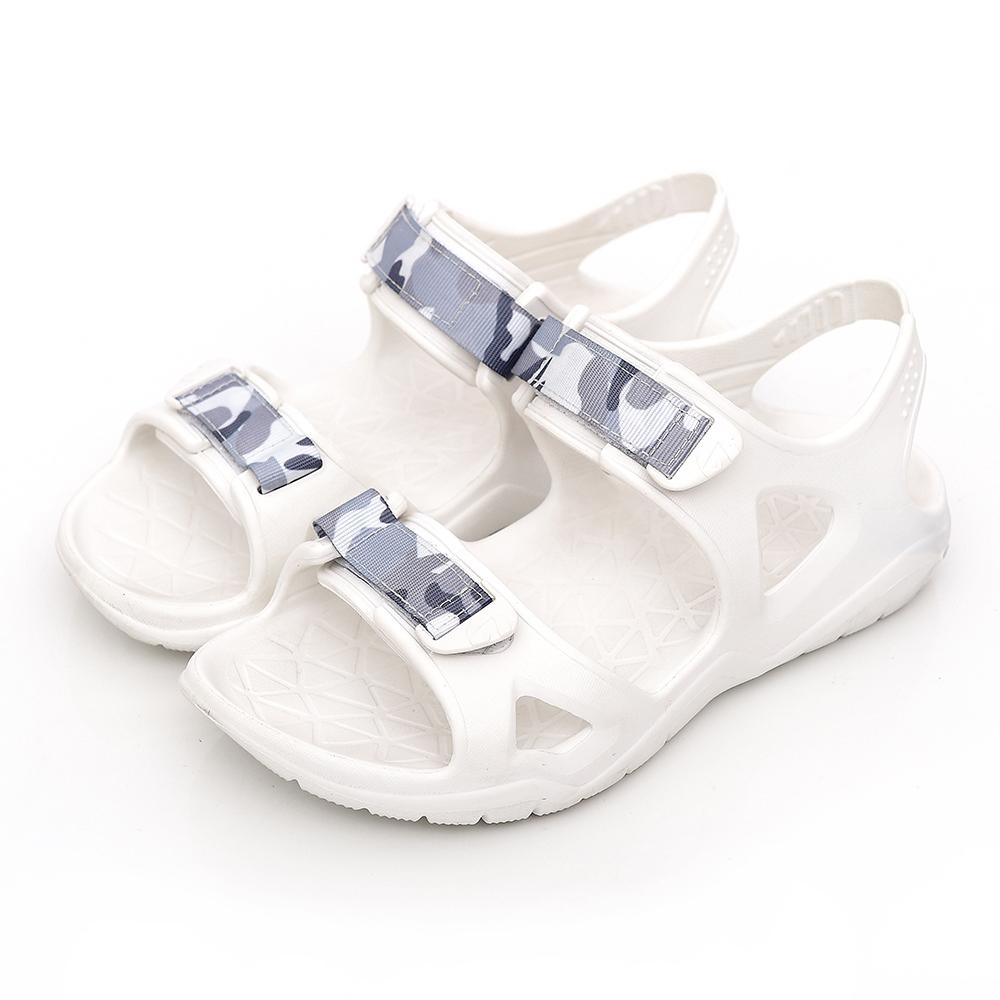 【AIRWALK】減壓緩震輕量休閒涼鞋-白色