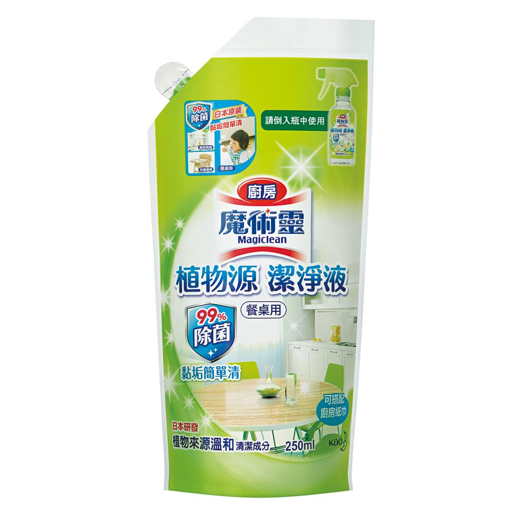 廚房魔術靈 植物源潔淨液 補充包 (250ml)