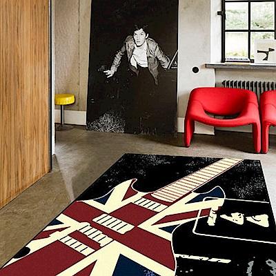 范登伯格 - 英倫  進口地毯 -  吉他 (140 x 200cm)