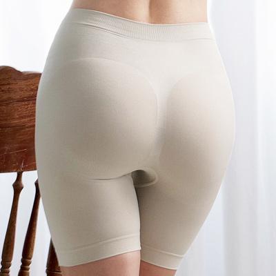 【曼黛瑪璉】高腰中管無縫修飾褲P12002(可可膚)