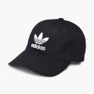 adidas Trefoil Cap 帽子 男款 女款 黑