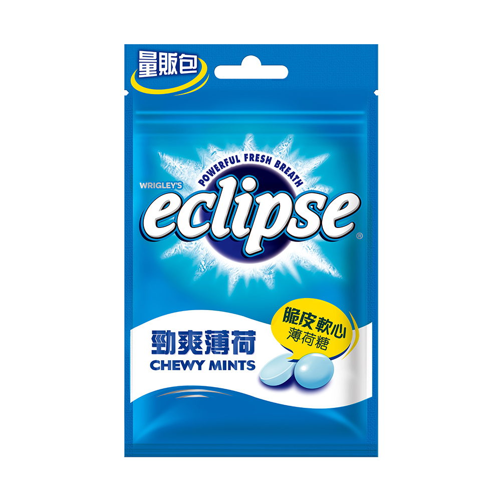 Eclipse易口舒脆皮軟心薄荷糖-勁爽薄荷口味70g