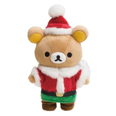 拉拉熊2017聖誕節店舖限定版毛絨公仔。懶熊  San-X