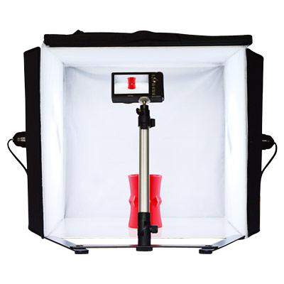 可攜式專業40公分攝影棚雙燈超值套組
