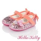 HelloKitty 高級超纖皮輕量減壓學步娃娃童鞋 粉色