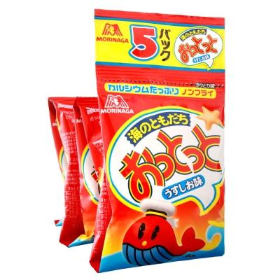 森永製果 5連魚型餅干-鹽味(50g)