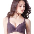 思薇爾 舒棉Bra系列D-G全罩軟鋼圈內衣(紫褐色)