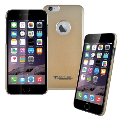 Metal-Slim Apple iPhone6(4.7)珠光圓孔設計系列 新型...