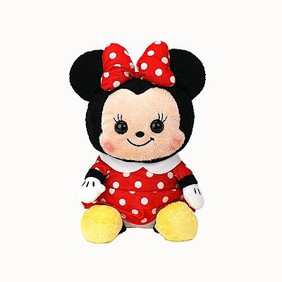 日版 Disney迪士尼 米老鼠 坐姿米妮 絨毛娃娃