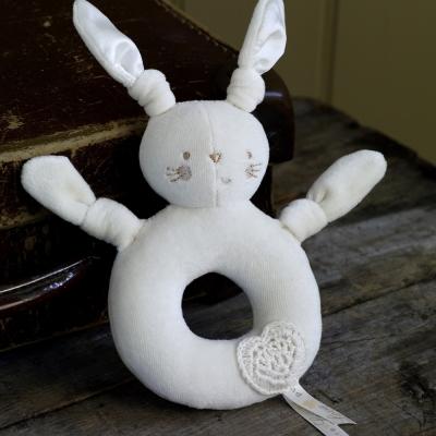 英國Natures Purest天然有機棉-小兔搖把(PTPL0091510)