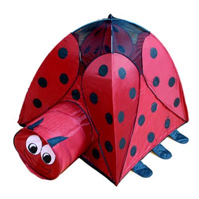 【BH】可愛瓢蟲造型帳篷式遊戲球屋