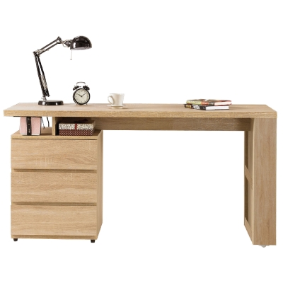 AT HOME-約翰5尺橡木紋電腦書桌