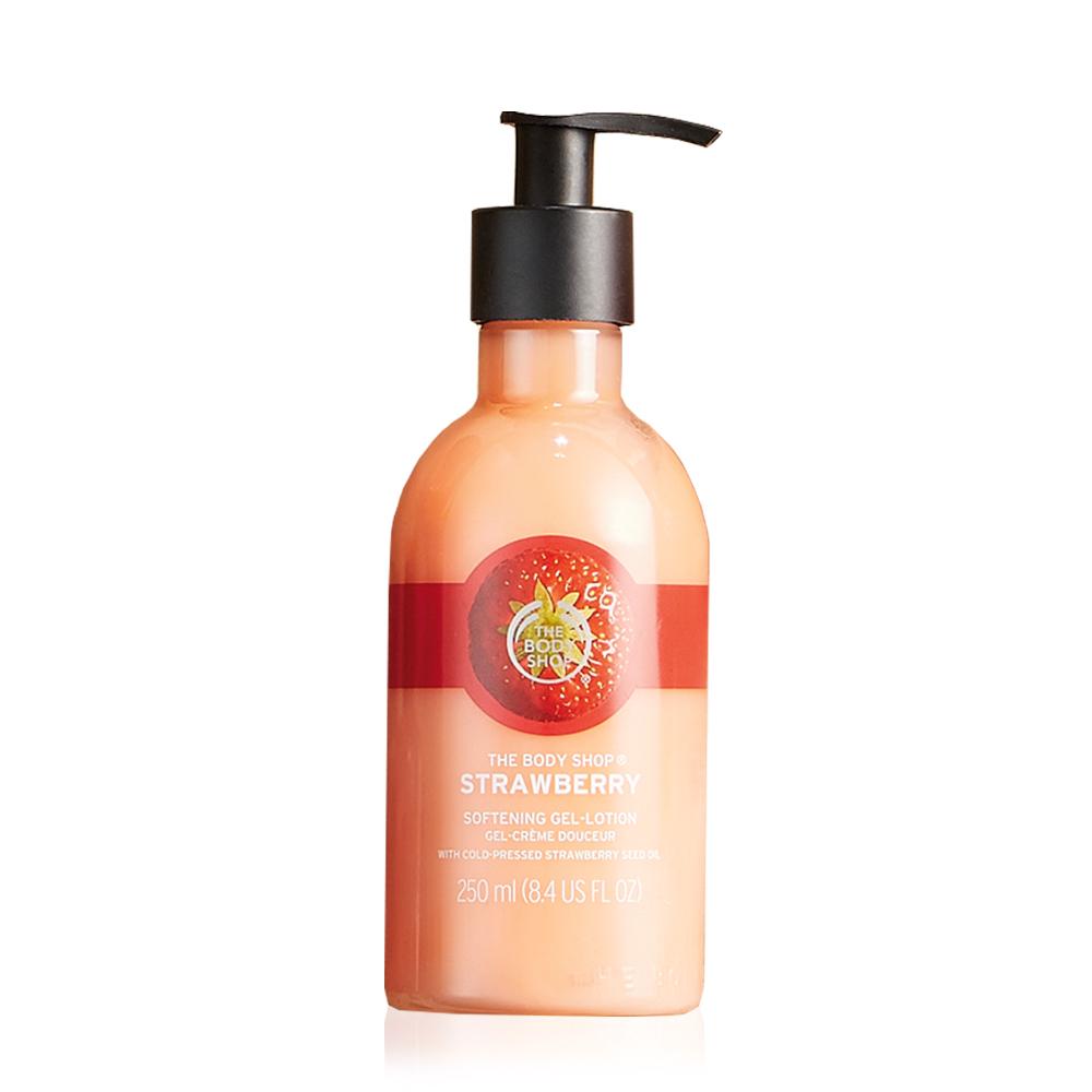 The Body Shop 草莓嫩白保濕潤膚乳250ML