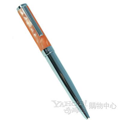 【filofax】迷你時尚原子筆   橘 +鉻金