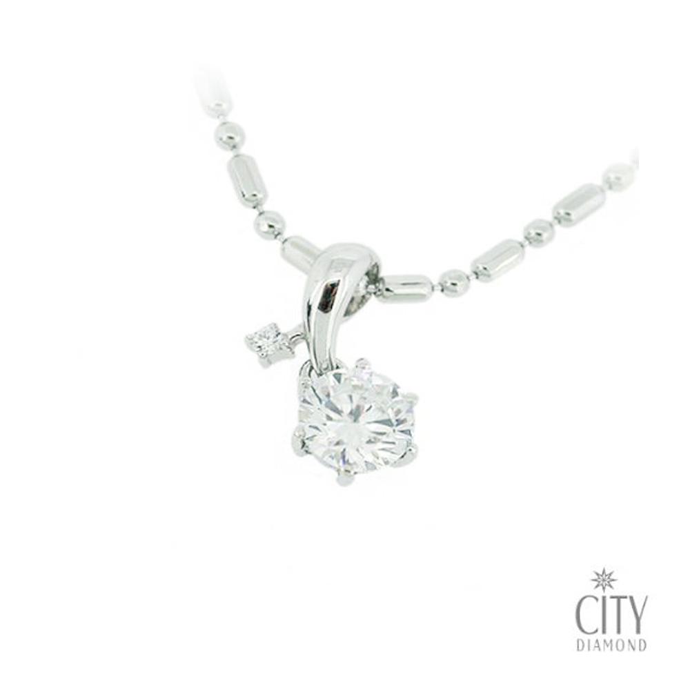 City Diamond『璀燦流星』K金項鍊