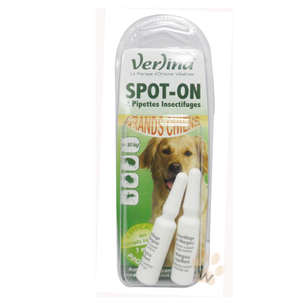 芬綠寧Verlina   大型犬專用天然驅蟲除蚤防蚤滴劑   二盒入