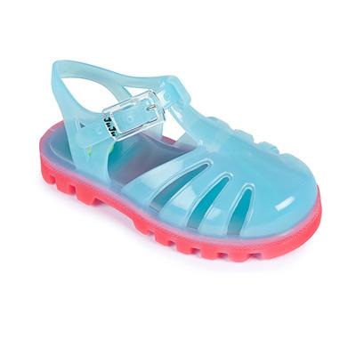 Project Jelly JuJu英國製果凍涼鞋(粉藍X粉紅)