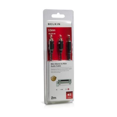 Belkin 3.5mm對RCA x2立體聲連接線