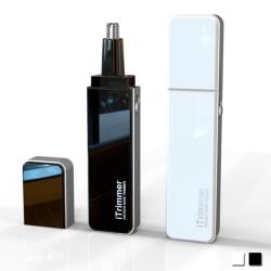 PUSH! 居家用品專利設計隨身碟型鼻毛修剪器電動鼻毛刀I68 兩色選