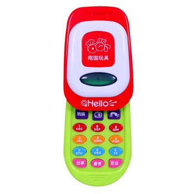 《Story Phone》燈光音效手機造型兒童成長趣味玩具