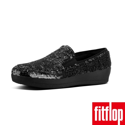 FitFlop SUPERSKATE SEQUIN LOAFERS