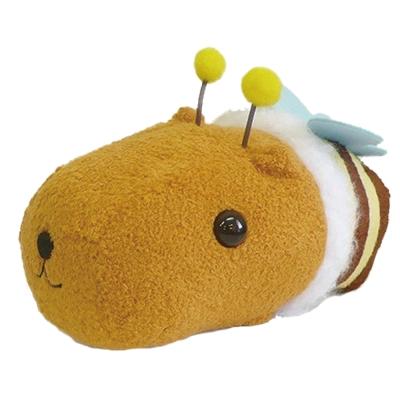 kapibarasan 水豚君花園變裝小蜜蜂公仔。水豚君