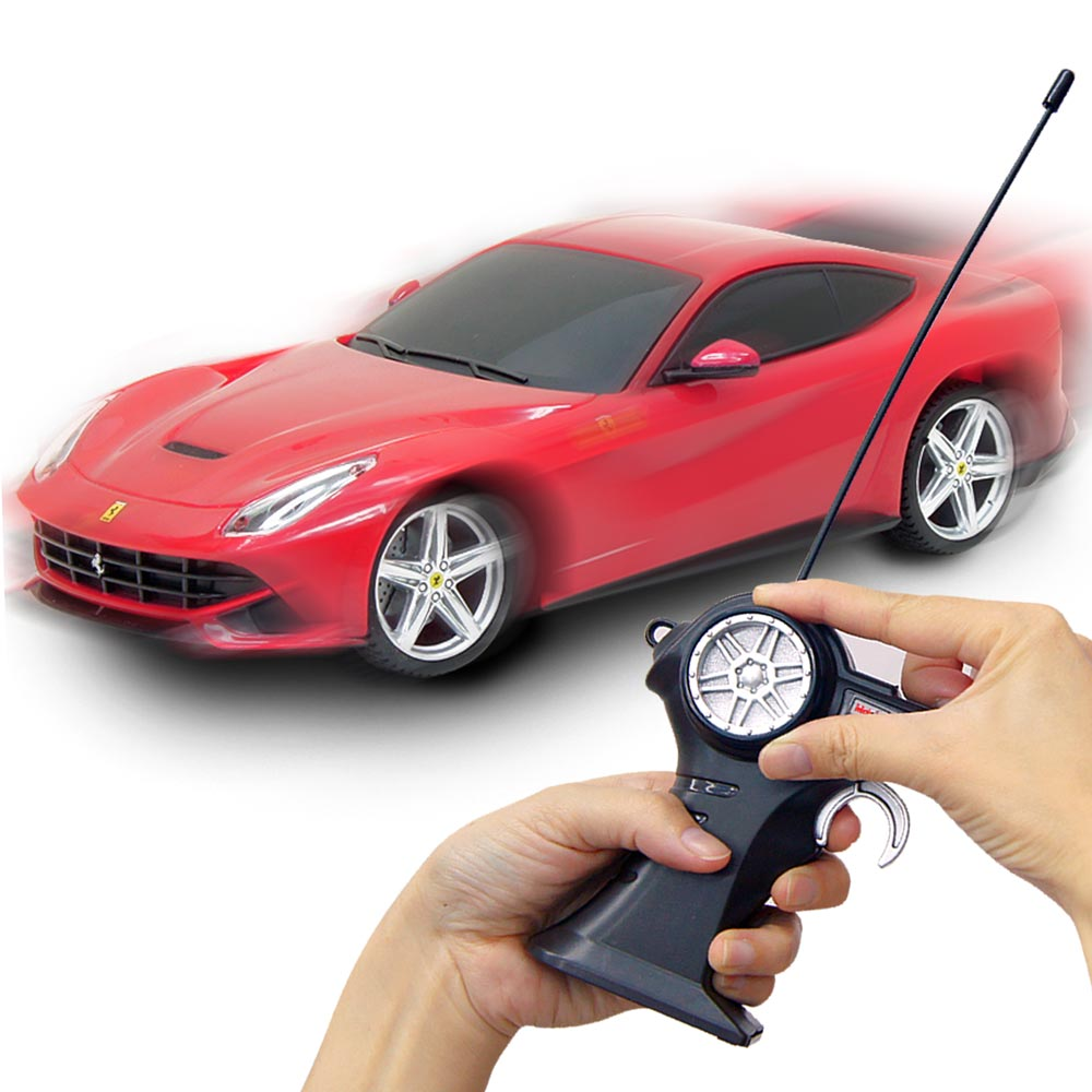 Ferrari F12 berlinetta 1:24無線遙控模型車 (紅)