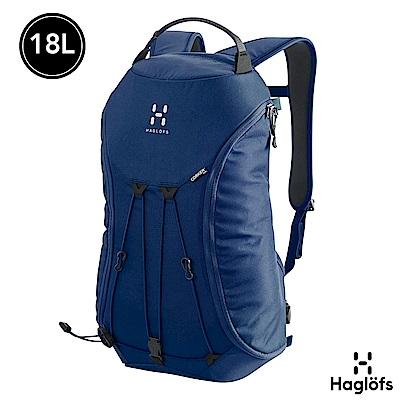 Haglofs Corker Medium 18L 防潑水 多功能後背包 灰藍