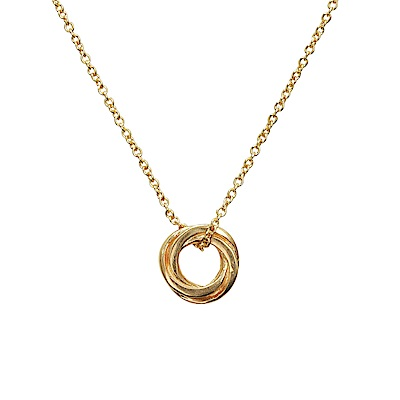Dogeared 美國品牌 無限愛情結 金色許願項鍊