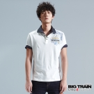 BIG TRAIN 天狗vs月姬POLO衫-男-白色