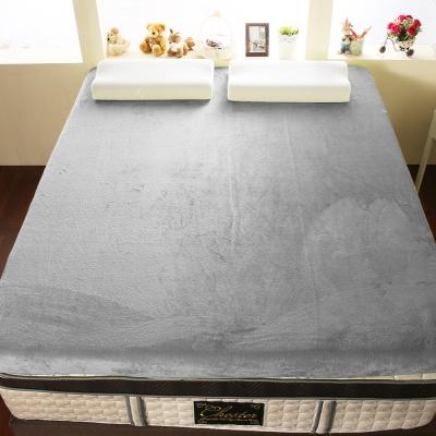 契斯特-12公分柔暖法蘭絨記憶床墊-單人3-5尺