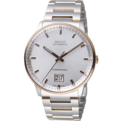 MIDO美度 指揮官系列 Big Date 紀念日手錶-42mm